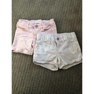 Gap kids' denim shorts, size 5, EUC